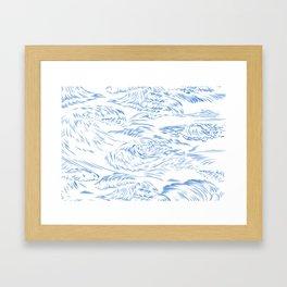MicroWave Goodbye Framed Art Print
