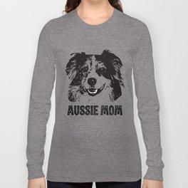 Aussie Mom Long Sleeve T-shirt