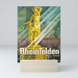 Advertisement rheinfelden suisse bains salins Mini Art Print