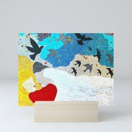 Sweet Nectar of Love Mini Art Print