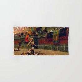 12,000pixel-500dpi - Jean-Leon Gerome - Pollice Verso - Digital Remastered Edition Hand & Bath Towel