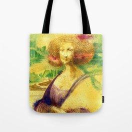 The Gioconda Mashup Tote Bag