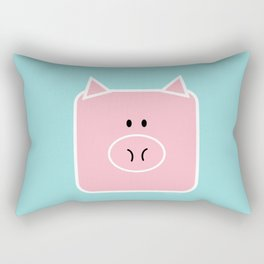 piggy Rectangular Pillow