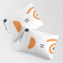 orange integral Pillow Sham