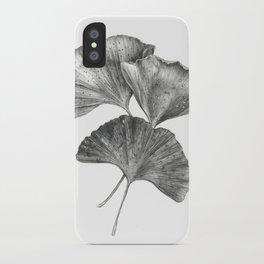 Autumn Ginko I iPhone Case