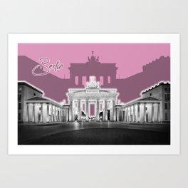 BERLIN Brandenburg Gate | Graphic Art | ink Art Print