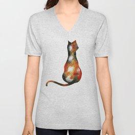 Calico Cat Unisex V-Neck
