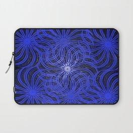 Cobalt Pinwheels Laptop Sleeve