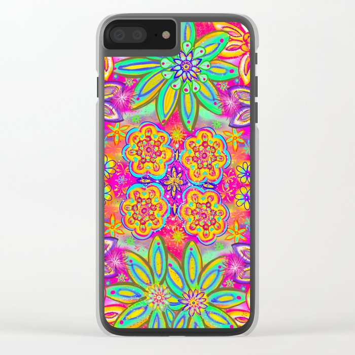 Child of the 60's Clear iPhone Case
