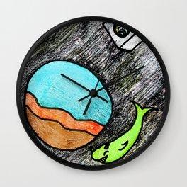 Space Fun Wall Clock
