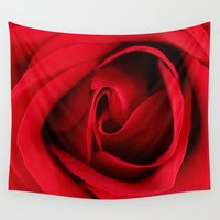 card Wall Tapestries featuring GREETING CARD by mark ashkenazi
