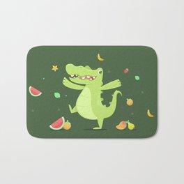 Alligator Bath Mat