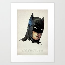 Detective Art Print