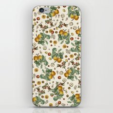 Apples Pears Peaches iPhone Skin