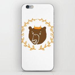 King of the Bears iPhone Skin