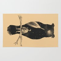 fancy Area & Throw Rugs featuring I Have a Dream by Norman Duenas