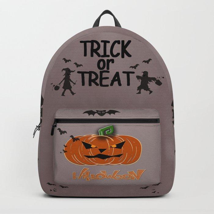 Halloween Pumpkin Rucksack