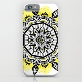 Bumblebee Bliss  iPhone Case