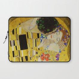 The Kiss, Gustav Klimt Laptop Sleeve