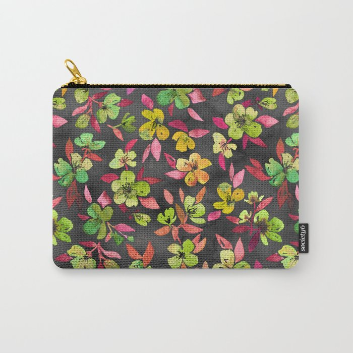 Southern Summer Lime Pop Carry-All Pouch