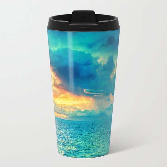 Summer vibes Metal Travel Mug