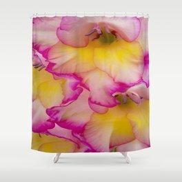 Cascading Shower Curtain