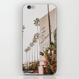 The Beverly Hills Hotel / Los Angeles, California iPhone Skin