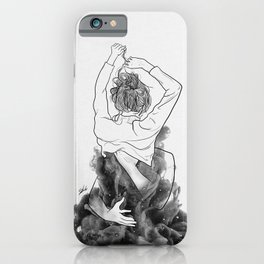 I want to know you little more deep. iPhone Case