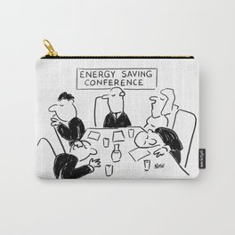 Energy Saving Conference Carry-All Pouch