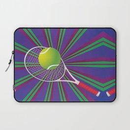 Tennis Ball and Racket Laptop Sleeve