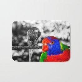 The bird in paradise Bath Mat