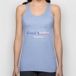 Coral Gables Florida Unisex Tank Top