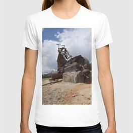 At the Longfellow Mine, elevation 11,080 feet, No. 2 of 13 T-shirt