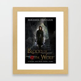 Blood of the Wolf Framed Art Print