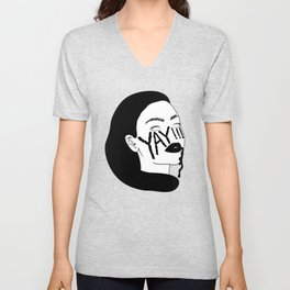 YAY!!! Day and Night Unisex V-Neck
