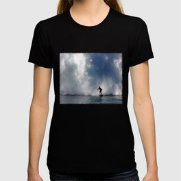 Surfing At The Wedge In Newport Beach, Califonia T-shirt