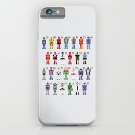 Transformers Alphabet iPhone Case