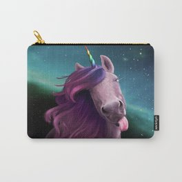 Sassy Unicorn Carry-All Pouch
