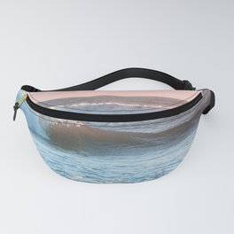 Beach Adventure Summer Waves at Sunset Fanny Pack