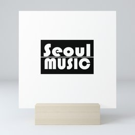 Seoul Music II Mini Art Print