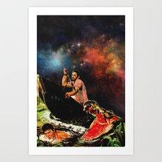 Gunn git a Big'un Art Print