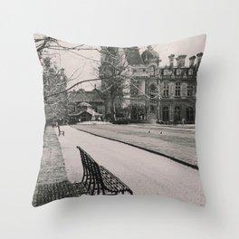Gardens Throw Pillow
