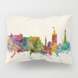 Edinburgh Scotland Skyline Pillow Sham
