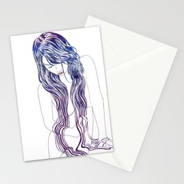 Tresses Stationery Cards