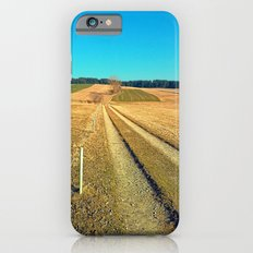 Hiking trail, blue sky and moon | landscape photography Slim Case iPhone 6s