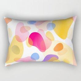 Pattern, wallpaper, forme e colore Rectangular Pillow