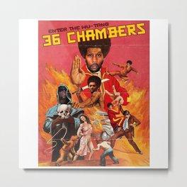 enter the wutang 36 chambers Metal Print
