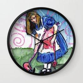 Alice II Wall Clock