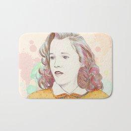 Lorraine Baines - Secondary character? Never! Bath Mat
