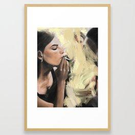 Interdit de Fumer Framed Art Print